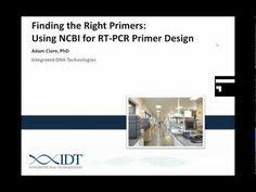 Finding the Right Primers: Using NCBI for RT-PCR Primer Design