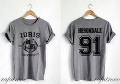 Herondale 91 Shirt Idris University Shadowhunters by RafaTrove