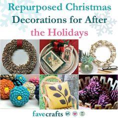 14 Repurposed Christmas Decorations | FaveCrafts.com