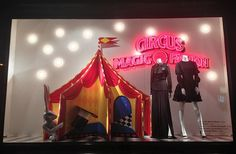 DLT Circus Magic Fashion windows 2013 Summer, St. Petersburg - Retail Design Blog» visual merchandising