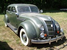 1935 Chrysler Imperial Airflow Maintenance of old vehicles: the material for new cogs/casters/gears/pads could be cast polyamide which I (Cast polyamide) can produce Chrysler Airflow, Chrysler Cars, Chrysler 300, Chrysler Voyager, Mopar, Vintage Cars, Antique Cars, Dodge, Jeep