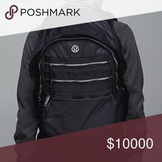 """ISO Lululemon backpack Looking for """"Lululemon Pack to Reality backpack"""" in black or open to other dark colors. Willing to pay $180 on here or Merc lululemon athletica Bags Backpacks"""