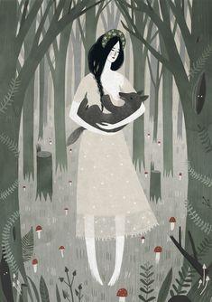 Mama Wolf by Alexandra Dvornikova
