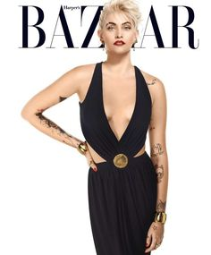 Paris Jackson on cover of Harper's Bazzar, April 2017