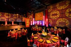 The Alfred Mann Foundation gala had a Chinese theme at Hangar 8.