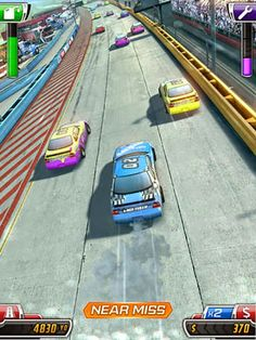 Daytona Rush App by Invictus. Racing Game Apps.
