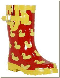 unique rubber ducks - Duck Rain Boots