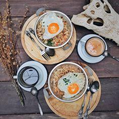 Breakfast served right ☀️ Photo: Meyvi Widelia Geeska