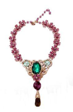 Lavender Flowers Lavender Flowers, Art Decor, Art Nouveau, Turquoise Necklace, Amethyst, Jewelry Design, Butterfly, Bracelets, Amethysts