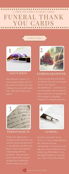 Infographic: Funeral Thank You Notes Sympathy Thank You Cards, Thank You Messages, Thank You Quotes, Thank You Gifts, Funeral Etiquette, Funeral Thank You Notes, Thank You Baskets, Funeral Cards, Funeral Quotes