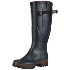 Was > Now Save off Aigle Parcours 2 Vario Ladies Wellies, Bronze, Hunter Boots, Rubber Rain Boots, Riding Boots, Men's Shoes, Footwear, Unisex, Shoe Bag