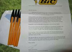 Well done, BiC