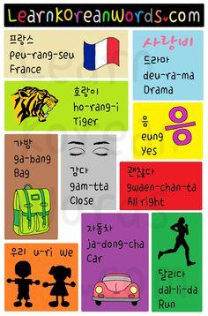 Korean Words and Phrases for TOPIK Beginner 02