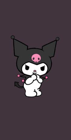 Goth Wallpaper, Sanrio Wallpaper, Hello Kitty Wallpaper, Kids Wallpaper, Kawaii Wallpaper, Cute Wallpaper Backgrounds, Cute Cartoon Wallpapers, Black And White Wallpaper Iphone, Pink Wallpaper Iphone