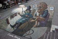 STREET ART UTOPIA » We declare the world as our canvasStreet Art in 3D by Eduardo Relero 14 » STREET ART UTOPIA