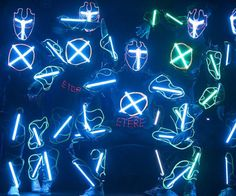 LED Suits  Leave your audience begging for an encore by blowing their minds while wearing these LED suits. These high quality suits feature a centralized computer control that lets you synchronize lighting effects to musical compositions to create stunning visuals.  $199.99  Check It Out  Awesome Sht You Can Buy