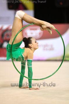 rhythmic gymnastics hoop