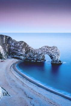 "motivationsforlife: ""Durdle Door, Dorset by Colin Smart // Instagram // Edited by MFL """