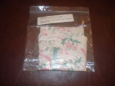 Ebay$12.00 Longaberger-1993-May-Series-Lily-of-the-Valley-Basket-Liner