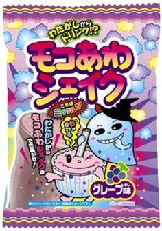 """Popin Cotton Candy """"Moco Awa Shake"""" Grape Flavor Meiji Chewing Gum Meiji Chewing Gum,http://www.amazon.com/dp/B007KLC0FK/ref=cm_sw_r_pi_dp_1sWOsb1Y89RVNPFM"""