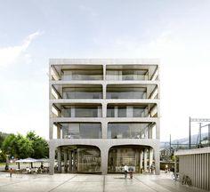 Quartieri della stazione Wattwil 2012 Durisch + Nolli