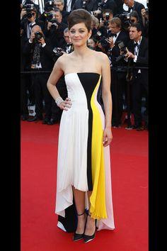 Marion Cotillard en robe Dior au Festival de Cannes 2013