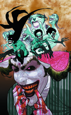 The Joker by Frazier Irving