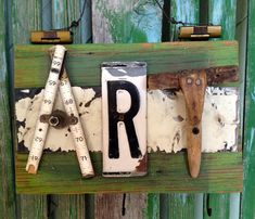 Art Hardware Sign by junkchic50 on Etsy, $35.00