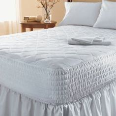 Cover plus 4.2 Cloud9 Full/Dbl 3 Inch Visco Elastic Memory Foam Mattress Pad Bed Topper Overlay 100% Visco Elastic Memory Foam For Comfort with Cover to Protect Your Visco Elastic Memory Foam Topper to Better Ensure That Your Visco-Elastic Mattress Pad Remains in Good Condition