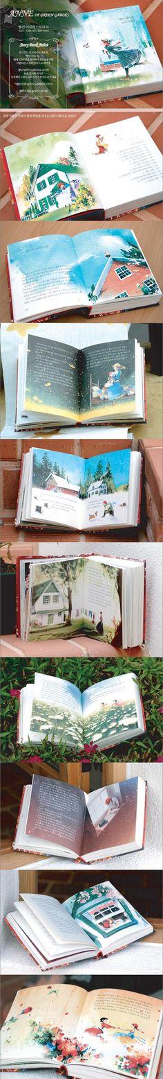 Anne of Green Gables in Korean Children book in Korean Hangul Book | AmazingSean