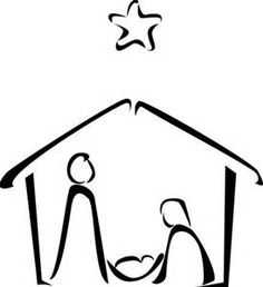 how to draw nativity - Bing Images