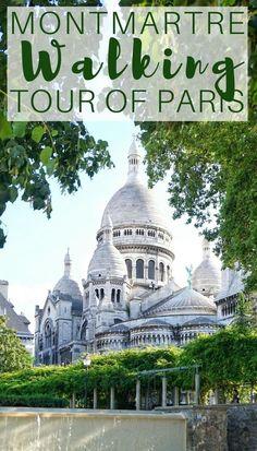 Montmartre walking tour of Paris, France