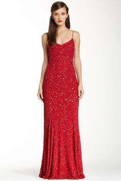 Theia Long Dress by Theia on @nordstrom_rack