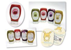 adorable concept for baby food package design.