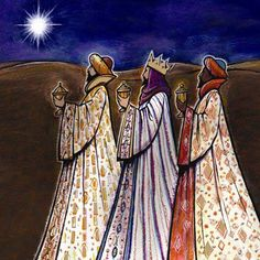 January 6th is the Christian celebration of Epiphany, the day that three wisemen, three kings, recognized Christ as the Son of God. Description from gracecrossing.org. I searched for this on bing.com/images