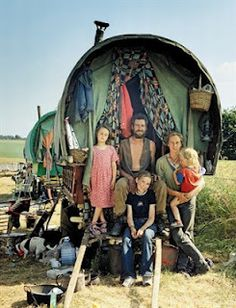 """""""With Gypsies, photographer Patrick Cariou retraces in reverse the migration of the Rom people (the Gypsies' own term for themselves) from Western to Eastern Europe, through the Middle East, and ultimately to India, the home of their ancestors. The original journey was an epic, thousand-year odyssey and Cariou labored more than a decade to travel it""""."""