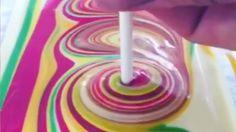 How to Make a Mirror Cake (Mirror Glaze Cake) from Cookies Cupcakes and Cardio Cake Decorating Techniques, Cake Decorating Tutorials, Decorating Ideas, Mini Cakes, Cupcake Cakes, Fondant Cakes, Rainbow Cake Pops, Rainbow Cakes, Bon Dessert
