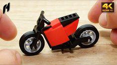 How to Build Lego Electric Motorcycle (MOC - Lego Wheels, Brick Block, Lego Building, Lego Creations, Bricks, Legos, Naruto, Pokemon, Motorcycle
