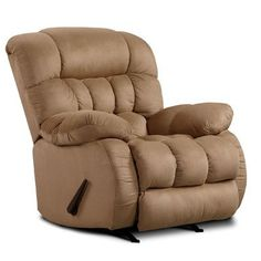 Chelsea Home Milo Rocker Recliner Upholstery: Softsuede Taupe