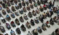 Cadeirantes em Foco: Exército de cadeirantes