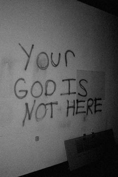 Atheism, Religion, God is Imaginary. Your god is not here. The Wicked The Divine, Arte Obscura, Southern Gothic, Aesthetic Grunge, Devil Aesthetic, Tattoo Quotes, Mood, Thoughts, Temples