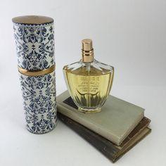 Painstaking Vintage Guerlain Shalimar Baccarat Style Glass Perfume Bottle/stopper 3 Oz Perfume Bottles #2
