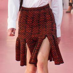 Dior Fringed Skirt FW15