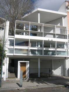 Imagen 1 de 19 de la galería de Clásicos de Arquitectura: Casa Curutchet / Le Corbusier. © Foto Vía ARQ+HIS