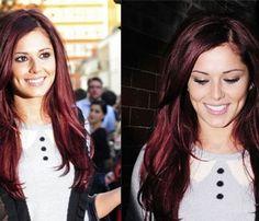 Oh Jamie, this is an idea...black cherry hair dye