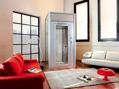 Modern Glass Elevator