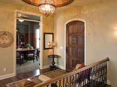 Indoor Balcony With Pretty Chandelier - Plan #091S-0002 | houseplansandmore.com