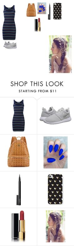 """""""❤️❤️❤️"""" by mariam-234 ❤ liked on Polyvore featuring T By Alexander Wang, NIKE, MCM, NARS Cosmetics and Chanel"""