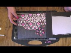 How to bind chipboard pages into a mini album How To Make Scrapbook, Mini Scrapbook Albums, Book Making, Card Making, Mini Album Tutorial, Origami, Mini Photo, Album Book, Mini Albums