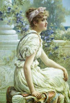 MATIN LUMINEUX: Norman Prescott Davies-1862-1915